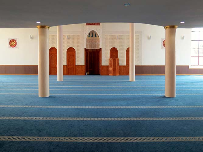 The best flooring solution for your mosque project or prayer room